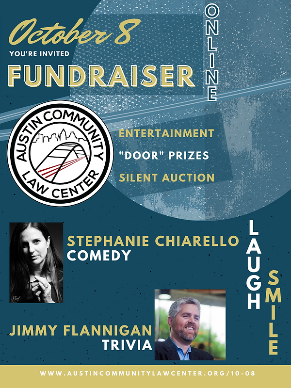 Flyer - Laughs and Trivia Fundraiser 10-
