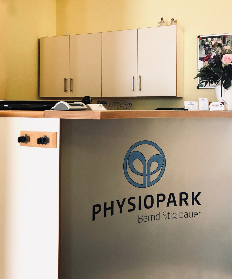 Empfang Physiopark