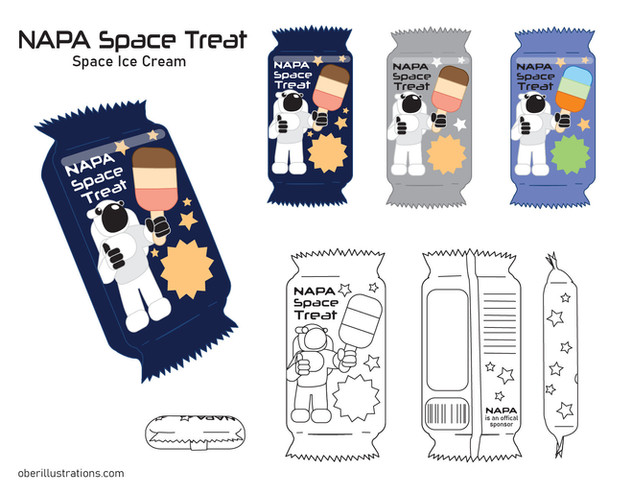 Space Cadet Lunch Box-Treat