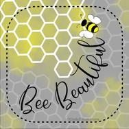 bee beautiful coaster for print JPG.jpg
