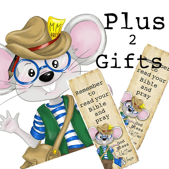 Matthew Mouse Bible Letter Subscription - Shared letter