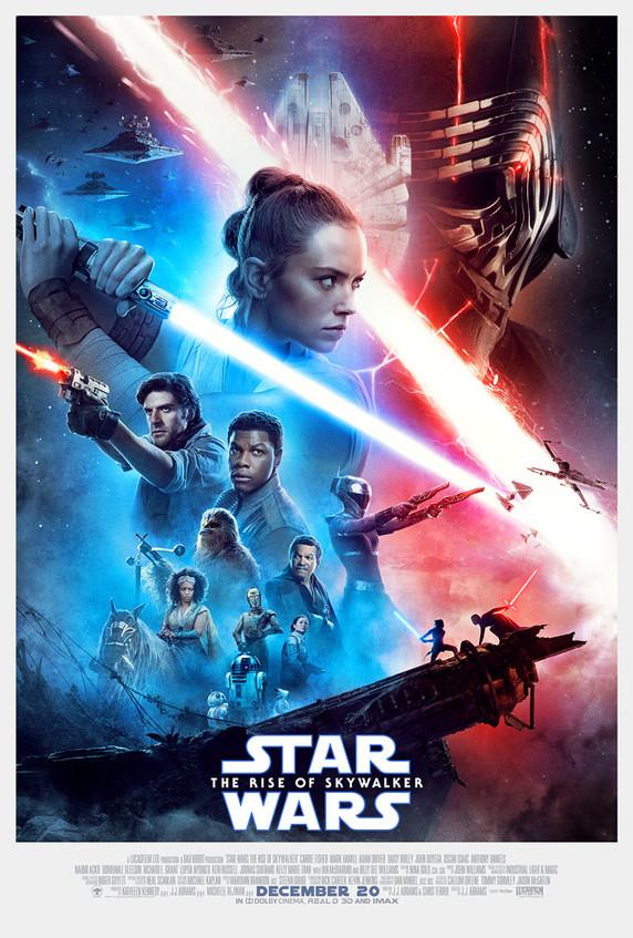 Poster oficial de El Ascenso de Skywalker