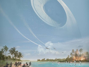 Poster y video del detrás de escena de Rogue One!