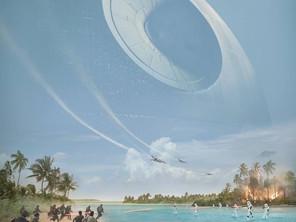 Poster y video del detrás de escena de Rogue One!
