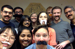 2017 National Lab Mustache Day