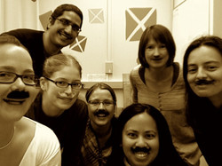 2009 National Lab Mustache Day