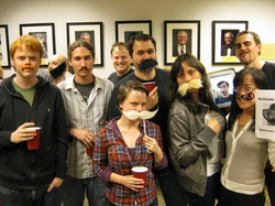 2013 National Lab Mustache Day