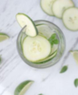 cucumber water michelle radley nutritionist