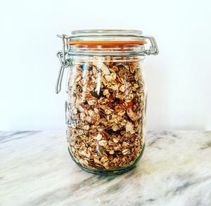 Health granola recipe breakfast