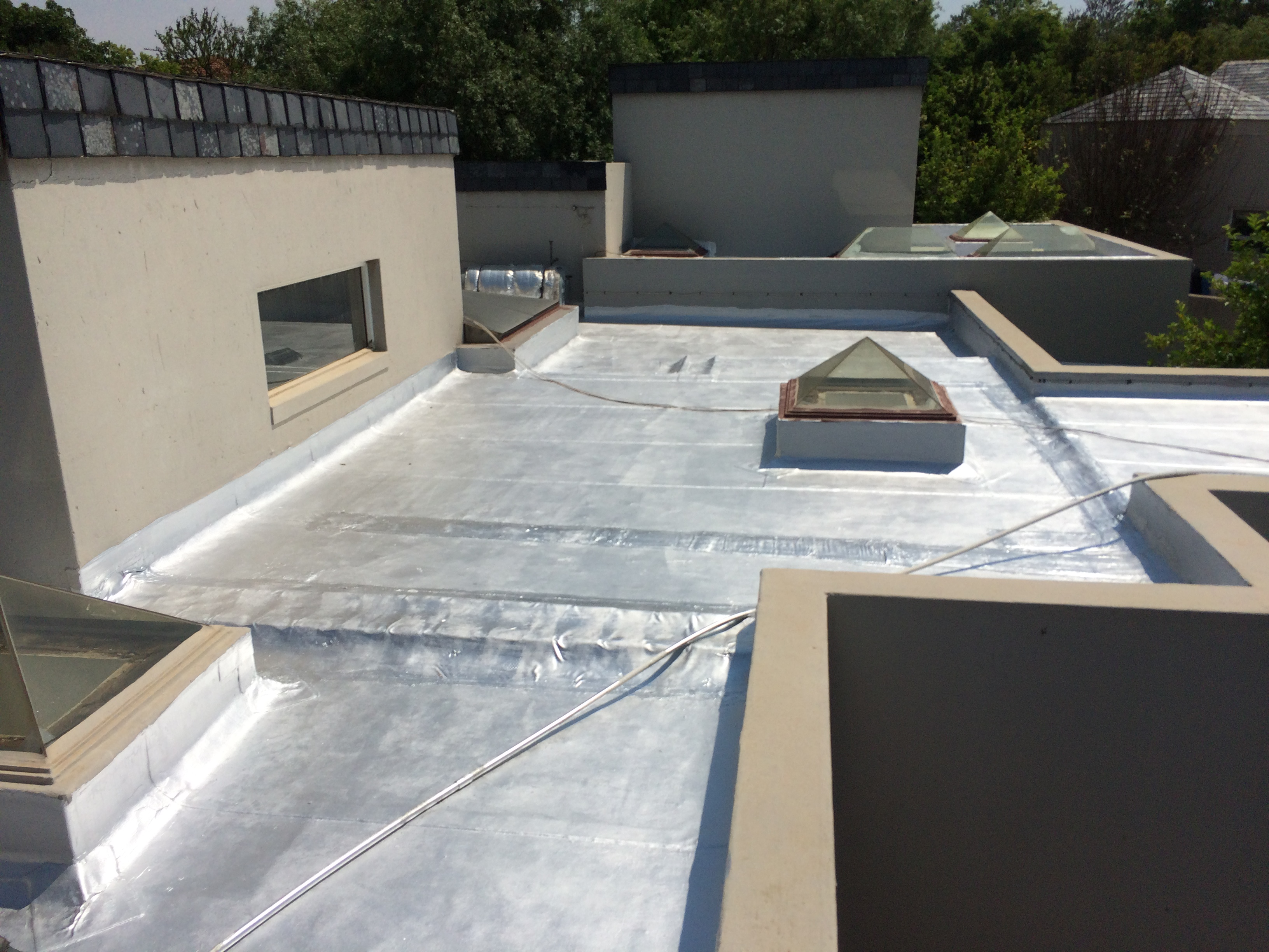 Completed torch on and skylight waterpro