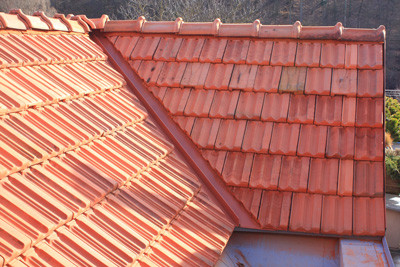 Open Valley system with Coronation Tile. and correct gap roof repairs johannesburg