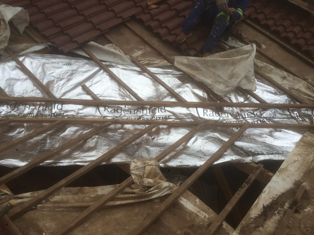 Foil fitment leaking valley waterproofing johannesburg