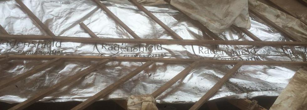 Foil fitment leaking valley waterproofing johannesburg