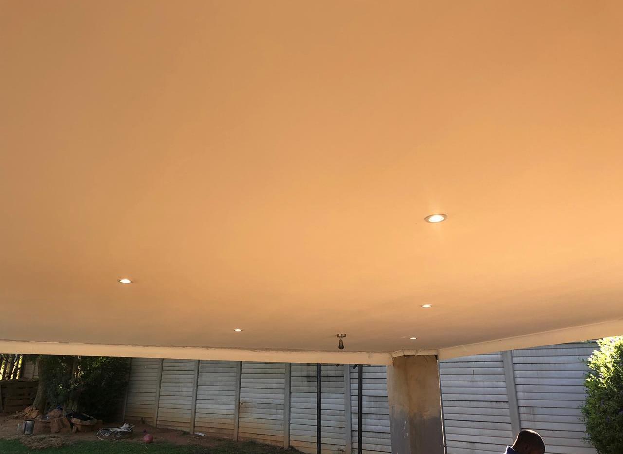 Patio -From Scratch Ceiling in progress