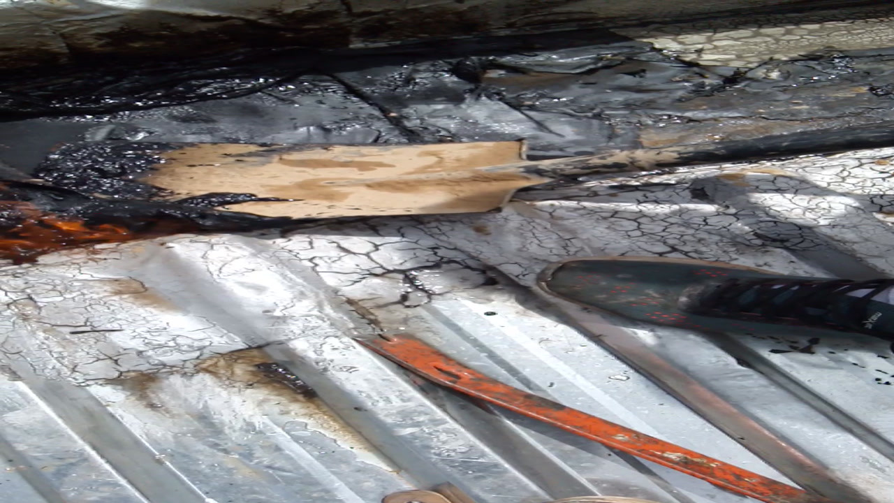 Bitumen Waterproofing Removal From Box Gutter No Damage By Fix A Roof
