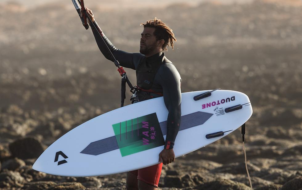 duotone kiteboarding wam sls action pic1