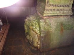 Medusa's Head, Istanbul's cistern