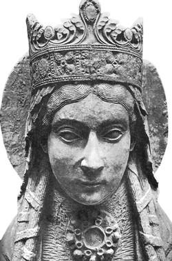 Queen and Saint Chlotilde