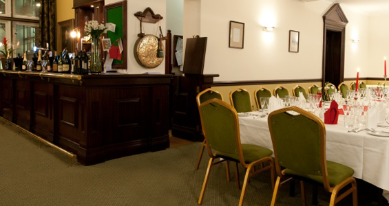 The Bridgewater Function Room at the St James's Club