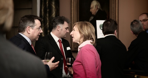 Drinks receptions at the St James's Club