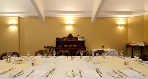 The Albion Function Room at the St James's Club