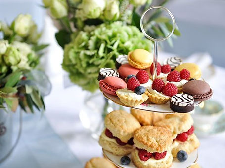 Ladies afternoon tea at the St James's Club