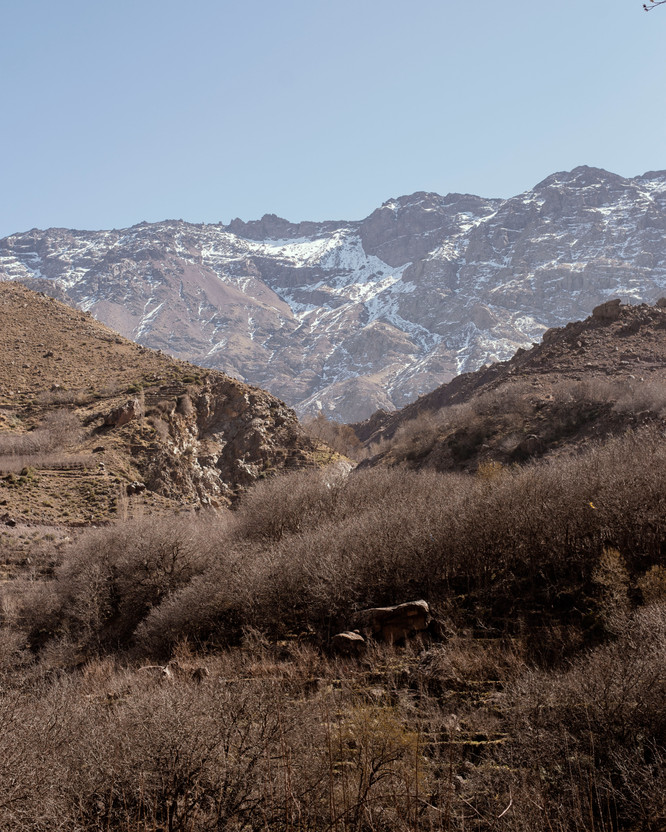 Atlas Mountains, Morocco,  February 2020