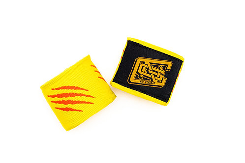 TIGER CLAW HANDWRAPS (YELLOW)