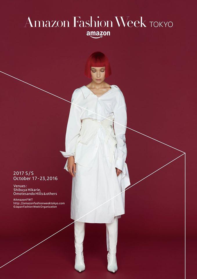 Amazon Fashion Week TOKYO | 2017SS Key Visual