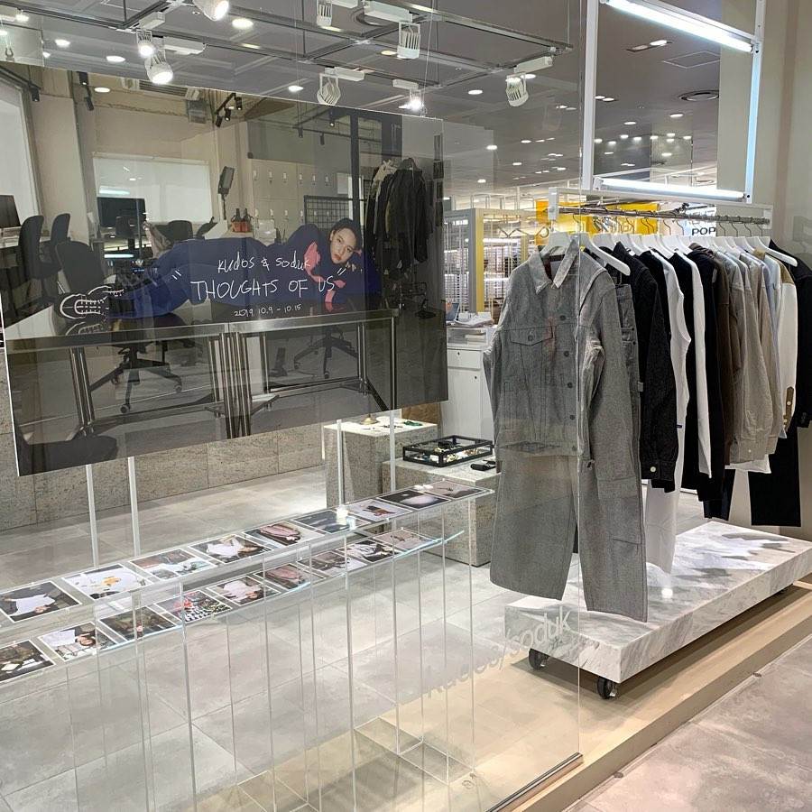 kudos&soduk Pop-up shop @Umeda Hankyu