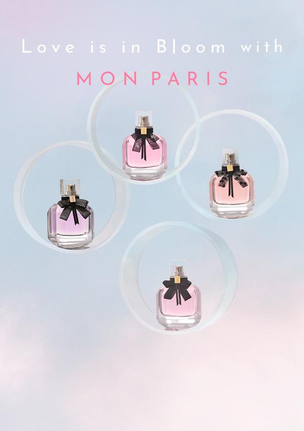 SPUR.JP   YVES SAINT LAURENT MON PARIS