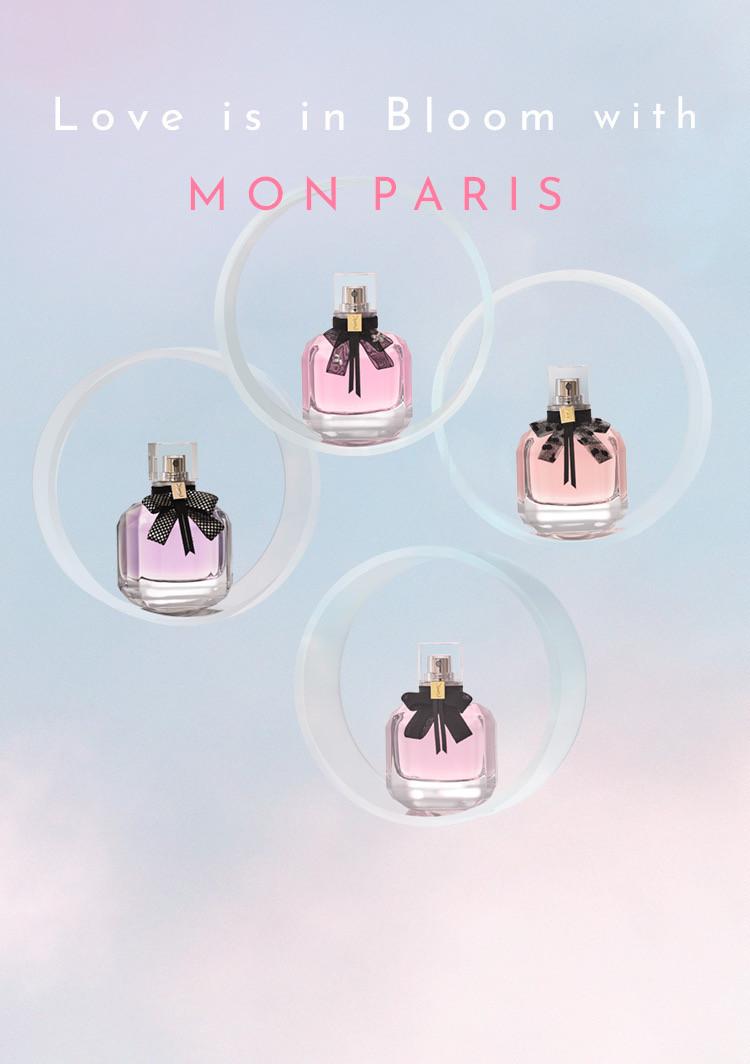 SPUR.JP | YVES SAINT LAURENT MON PARIS