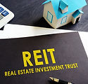 Real estate investment trust REIT on an
