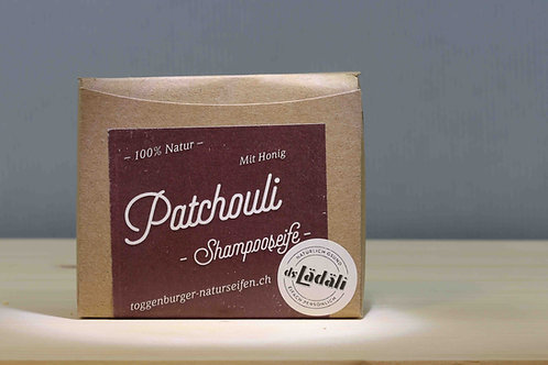 Toggenburger Patchouli - Shampooseife mit Honig, 100 gr.