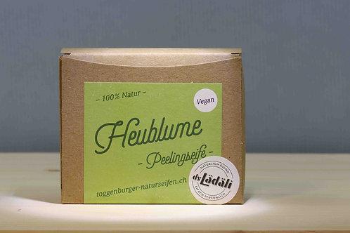 Toggenburger Heublueme - Peelingseife Vegan, 100 gr.