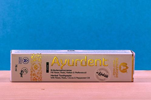 AYURDENT, fluorfreie, ayurvedische Zahncreme, mild, 100 g