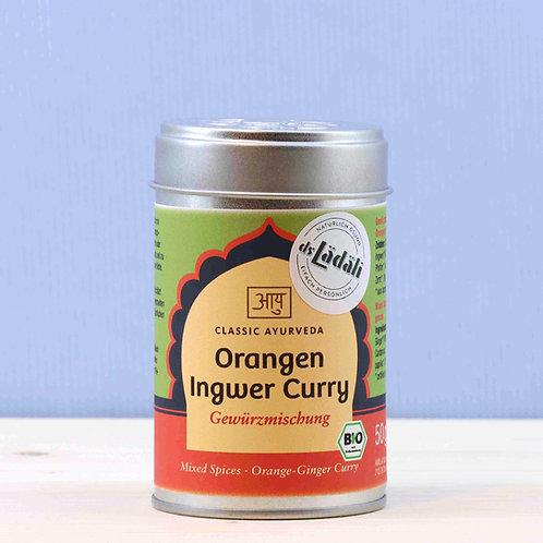 Orangen Ingwer Curry Gewürzmischung, Bio
