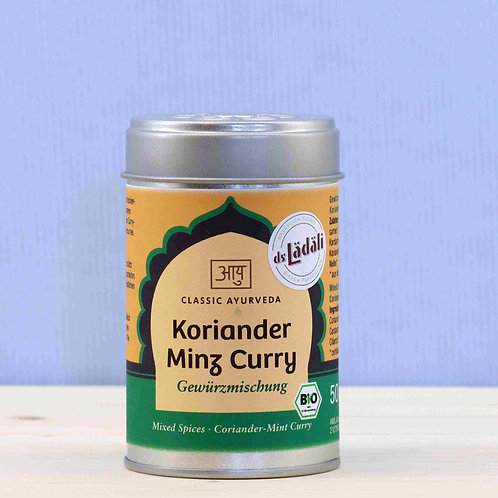 Koriander Minz Curry Gewürzmischung, Bio