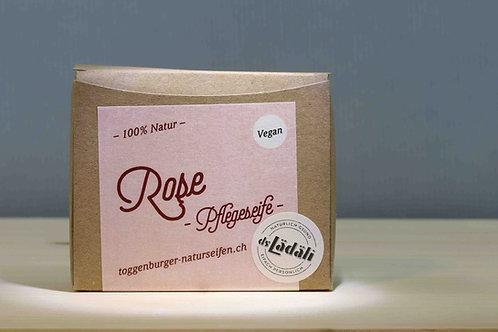 Toggenburger Rose - Pflegeseife Vegan, 100 gr.
