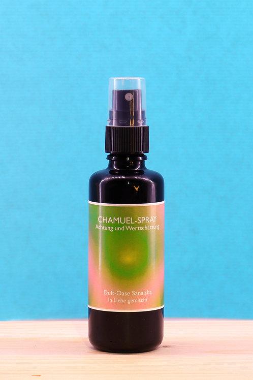 Sanaisha Chamuel-Spray (Achtung & Wertschätzung), 50 ml.