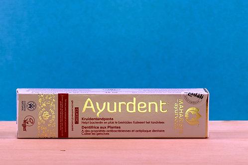 AYURDENT, fluorfreie, ayurvedische Zahncreme, Classic, 100 g