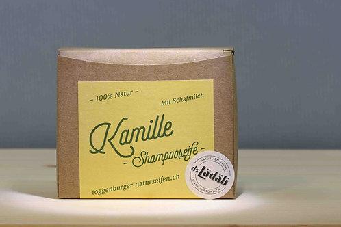 Toggenburger Kamille - Shampooseife mit Schafmilch, 100 gr.