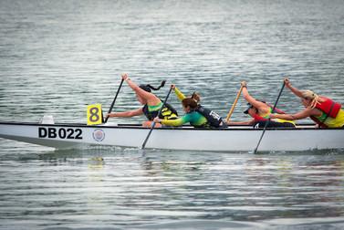 Singapore Regatta Race with Austcham Paddle Club