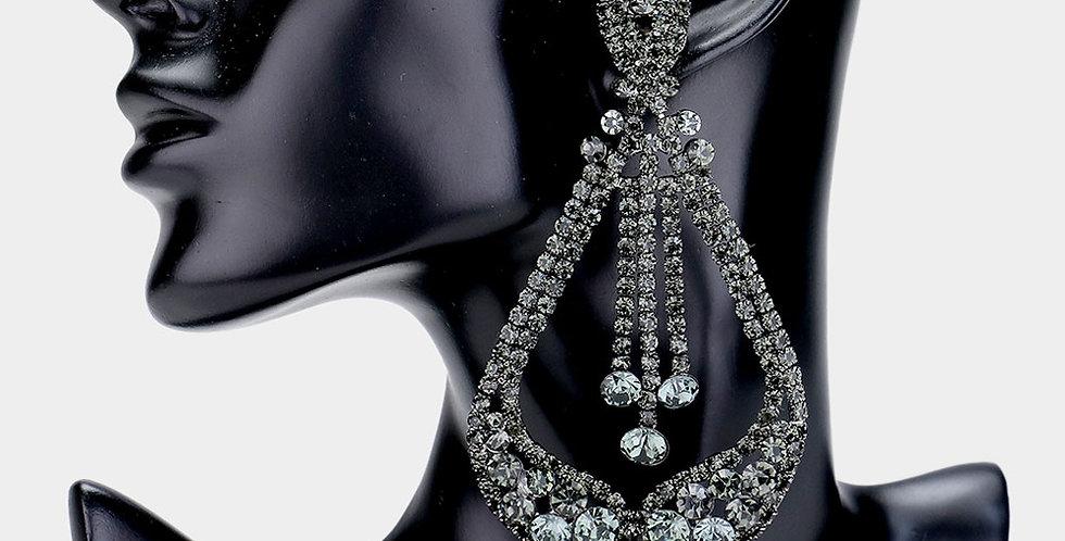 black gem clip ones