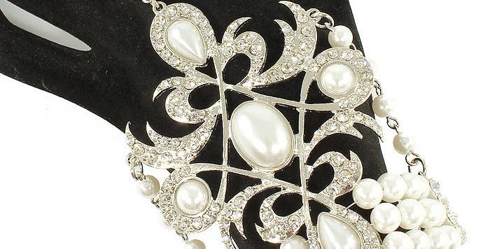 diamonds and pearls ring bracelet