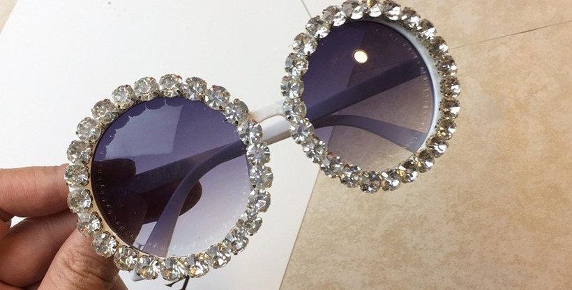 White Diamond Circle shades