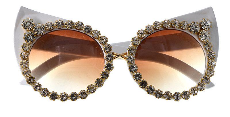 White Diamond Glasses