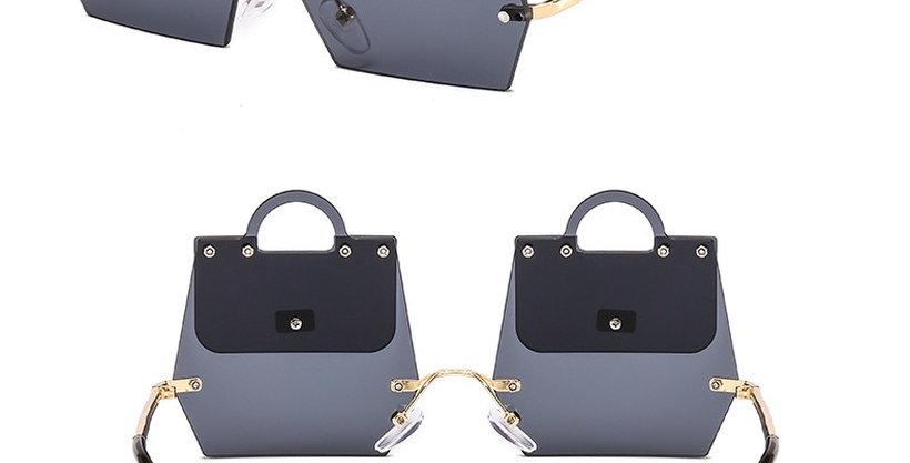 black handbag shades