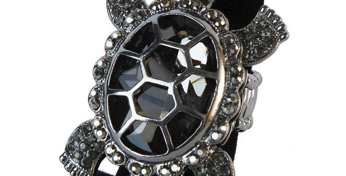 black turtle ring