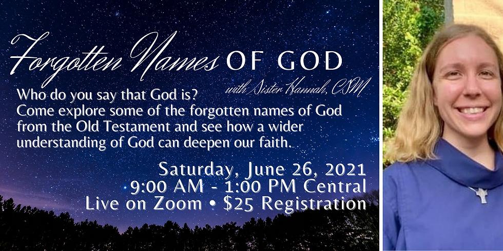 Forgotten Names of God